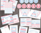 Gender Reveal Party Suppl...
