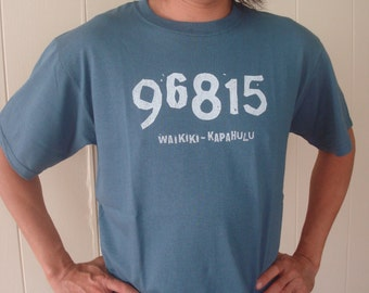 Zip Code 96815 T shirts for Men