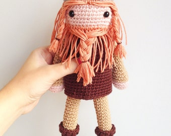 Viking Plush, Viking Soft Toy, Viking Stuffed Toy, Viking Doll, Viking Plushie, Norse Plush