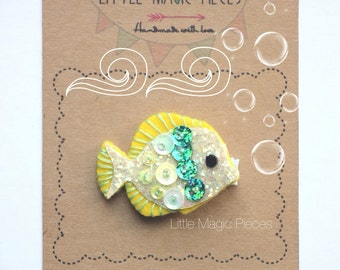 Little Fish Hair Clip Summer Under The Sea, LittleMagic Pieces
