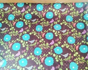Echino Fabric Madrigal Chocolate