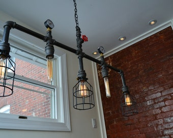 steampunk lighting. fine lighting hanging multiple pendant  steampunk pipe light  in lighting h