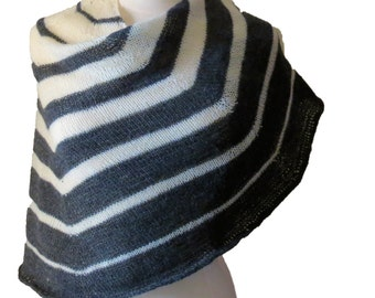 Sonar Shawl Yarn Kit - Stunning Superwash Fingering Weight - 100% Superwash Merino