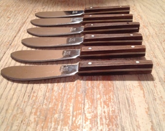 Popular items for pate knives on etsy for Canape spreaders
