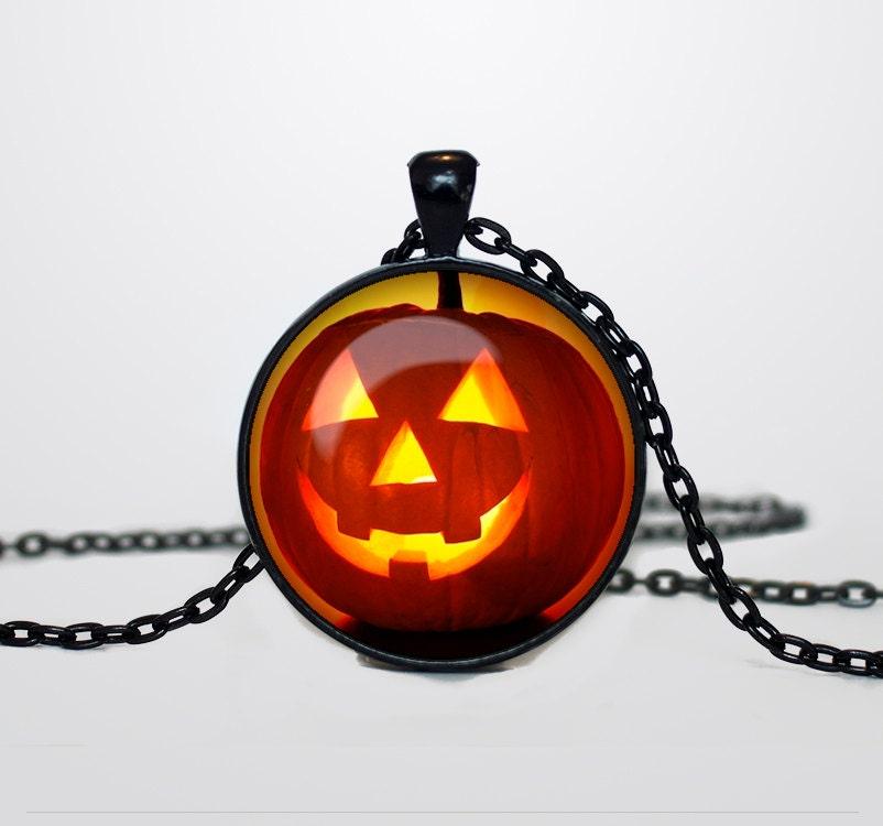 pumpkin necklace pumpkin pendant