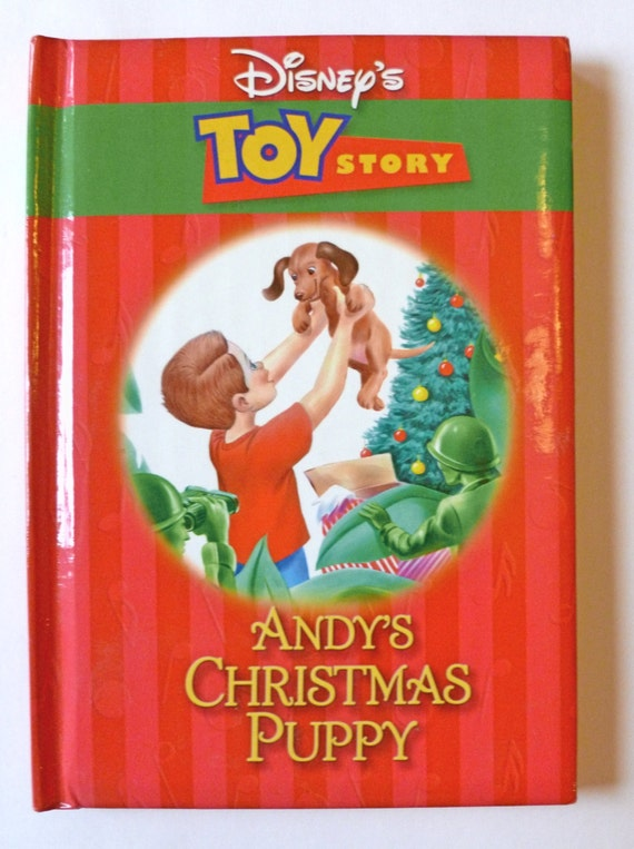Toy Story Christmas : Disney christmas book toy story andy s puppy