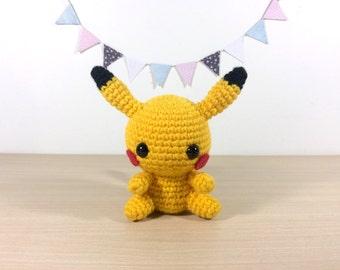Amigurumi Patrones De Pokemon : Pikachu Amigurumi Crochet Plush Doll