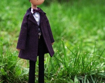 Eleventh Doctor - handmade doll from Doctor Who