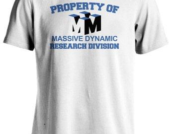 Fringe TV Series Massive Dynamic Research Division T-shirt