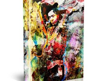 Stevie Ray Vaughan Canvas, SRV Original, Blues Canvas Art Print