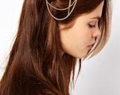 Tassel hair chains hair chain head piece chain headpiece hair ornaments head pieces hair chain head piece Fringe Tassel Hair Comb.H154899