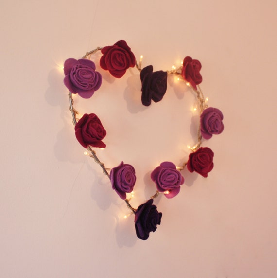 Items similar to valentines day decor heart shaped for Heart shaped decorations home