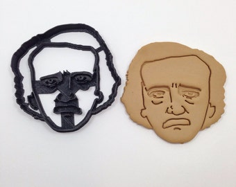 Edgar Allan Poe Cookie Cutter