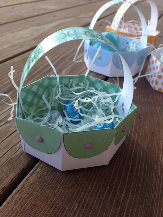 Instant download diy printable easter basket gift box paper instant download diy printable easter basket gift box paper basket easter craft activity easter gift idea last minute kids activity negle Image collections