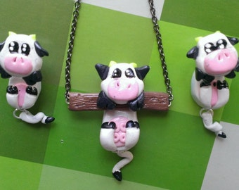 NIghtingale Clingy Collection~ Super Cute Cows!