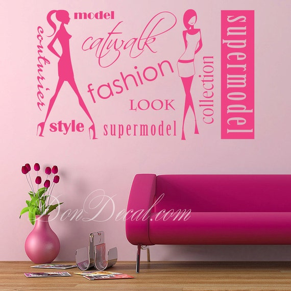 Bedroom wall art sticker vinyl decor living room wall art for C meo bedroom wall dress