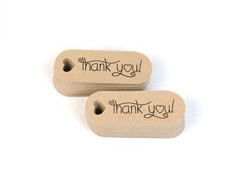 Thank you mini hang tags - small favor tags