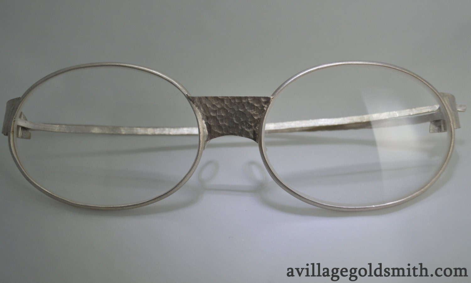 Eyeglass Frames Made In The Usa : Sterling Silver Eyeglasses Made in the USA by VillageGoldsmith