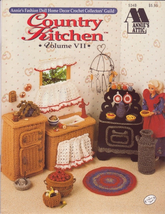 annie s fashion doll home decor crochet by simplercollectibles