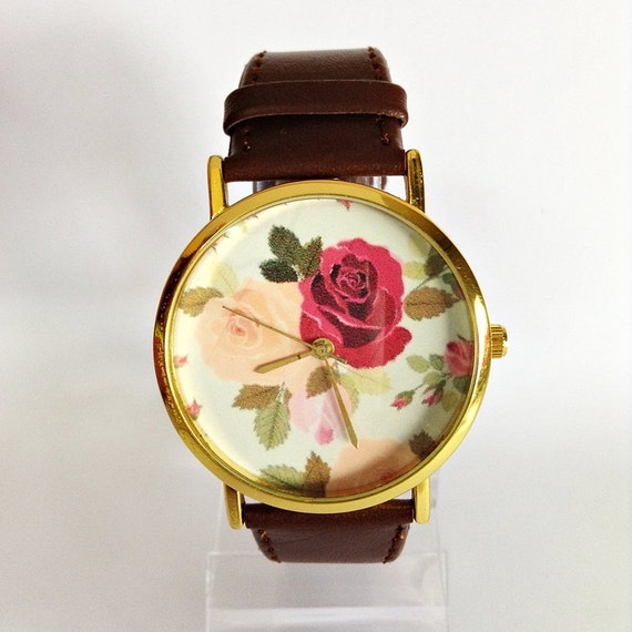 Floral Watch Rose Watch Vintage Style Watch Victorian. Anniversary Bands. Rectangle Cut Diamond. Black Pendant. Different Style Wedding Rings. Beautiful Ankle Bracelets. Diamond Eternity Bangle Bracelet. Golden Watches. Black Opal Wedding Rings