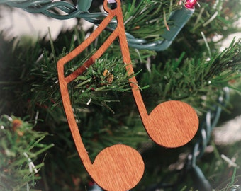 Music Ornament made from Music Symbols