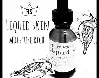 Organic Face Oil - Moisturizing Face Serum - Organic Facial Moisturizer - Facial Oil with Organic RoseHip Seed Oil and Organic Argan Oil
