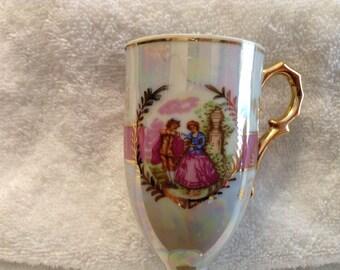 Vintage Tilso Demitasse Lusterware Cup