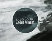 Custom About Widget For Your Blog or Website