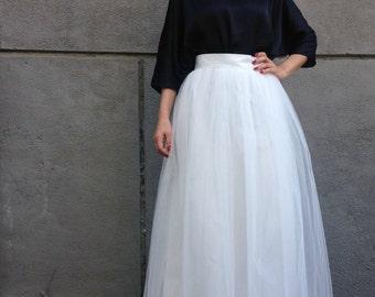 Long tutu dress tutorial