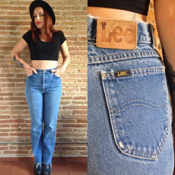 Items Similar To Vintage High Waisted Lee Jeans 90s Style