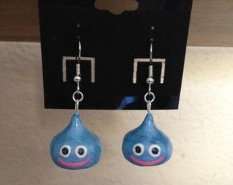 Dragon Quest Slime Inspired Earrings