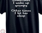 Grumpy T-shirt , Funny tshirt, Mens tshirt