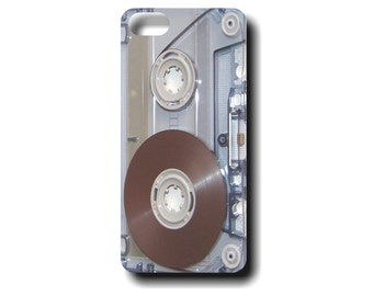 Cassette Tape iphone case  - iphone 5 and iphone 6 / 6+ tough case - Retro phone case