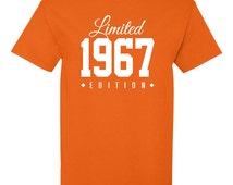 1967 Limited Edition 49th Birthday Party Shirt, 49 years old shirt, limited edition 49 year old, 49th birthday party tee shirt TH-137