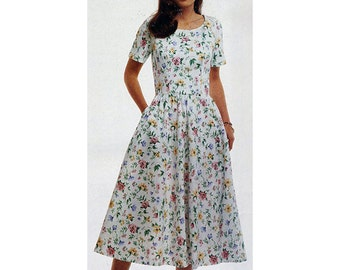 McCall's Sewing Pattern 4780 Stitch 'N Save Misses Petite-able Dress Size A 6-8-10 Used