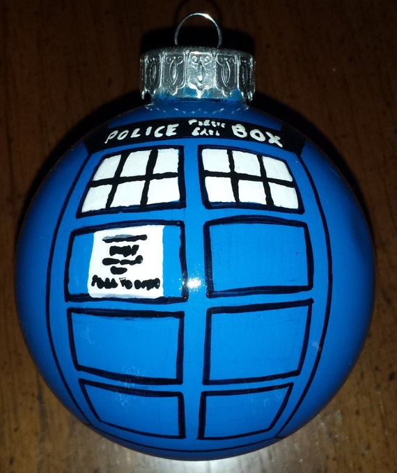 Items similar to Doctor Who TARDIS Ornament on Etsy