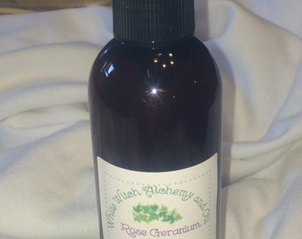 Organic Dog Shampoo Rose Geranium