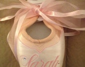 Custom Name or Logo Handpainted Pointe Shoe  - Great Gifts for Dance Teachers - Etsy Finds