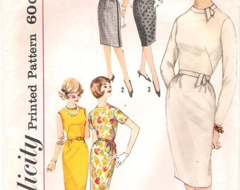 1960s Simplicity 4518 One-Piece Dress Pattern 13/33