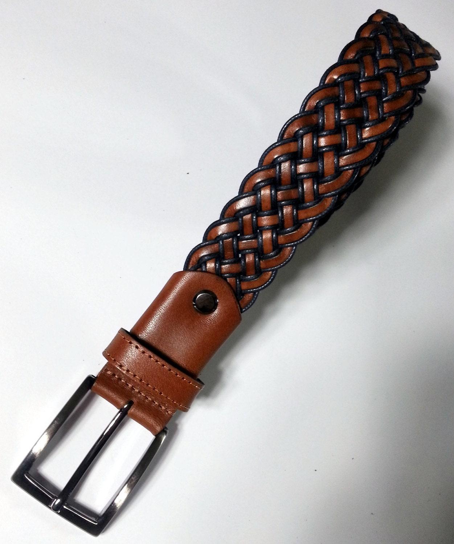 belt s belt leather adjustable belt blue by peratime