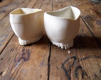 Teeth porcelain cup