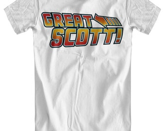 Great Scott! - Back To The Future Inspired T-Shirt
