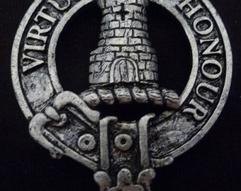 MacLean Clan Crest Badge