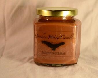 Banana Nut Bread Soy Wax Candle, 8 oz.