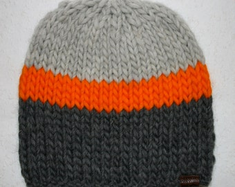 """Individelle knit hat with interchangeable Bobble """"Style Neon Edition"""""""