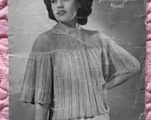1940s Vintage Knitting Pa...