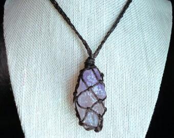 Diandra Raw Crystal Necklace
