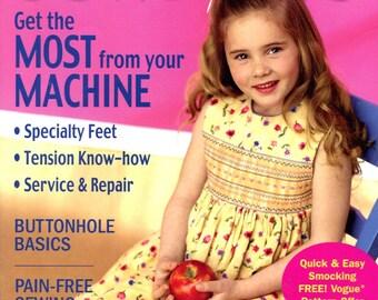 Sew News magazine, July 2003