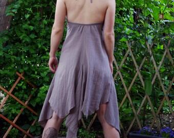 Sweet Shine - Pixie Dress Fairy Sleeveless Dress V - Neckline Burning Man Festival Clothing