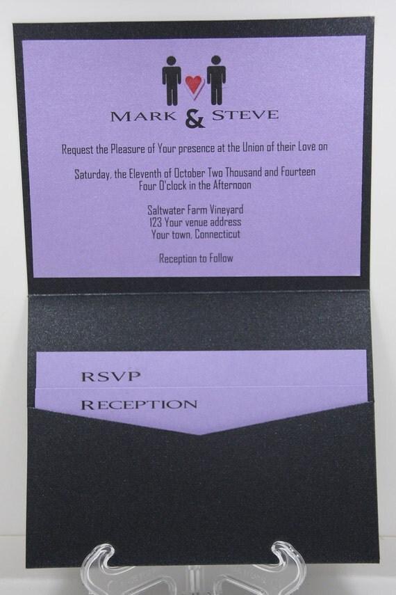 same sex wedding invites in Terrebonne
